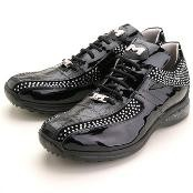 Black Genuine Crocodile &