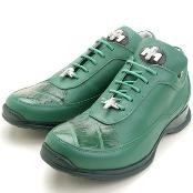 Green Genuine Crocodile/Calfskin $249