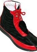 Red/Black Genuine Alligator /
