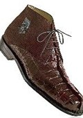 Rust Genuine Hornback Crocodile