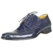 Wonder Blue Genuine Alligator