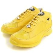 Yellow Crocodile & Calfskin