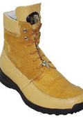 Yellow Pepper Genuine Alligator/Suede