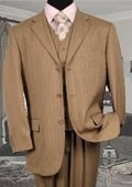 Mens 3 piece Tan/Beige