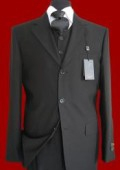Mens Dress Black Vestsd
