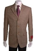 3-button Taupe Sport Coat