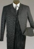 Mens 7 Button 3pc