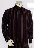 Black-Wine Long Sleeve 2pc