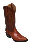 Boots Lizard in Copper~Rust~Cognac