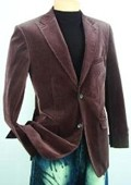 Brown Fashion Sport Coat