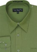 Dark Lime Dress Shirt