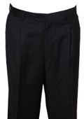 SKU#RH333 Men's Dress Pant Black wide Leg $99