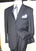 Dress Pinstripe 3 Buttons
