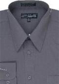 Dress Shirt Charcoal $39