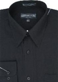 Dress Shirt Black $29
