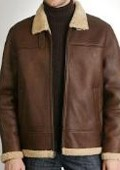 Flight Lamb Shearling Bomber
