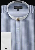 French Cuff Shirt Royal