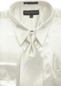 Silk dress shirt