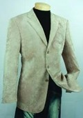Khaki Fashion Sport Coat