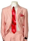 SKU#EV219 Men's Multi-Colored Suit Collection Pink $79