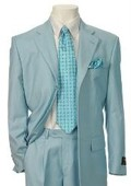 SKU#RX327 Men's Multi-Colored Suit Collection White $139