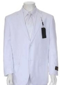 Multi-Colored Suit Collection White