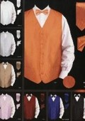 New patterned Satin Vest
