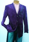 Purple Fashion Sport Coat