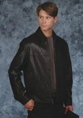 Semi blouson jacket Black