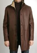 Sheepskin Shearling Long Coat