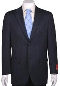 Suit Navy Stripe ~