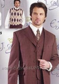Suit and Sweater -