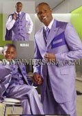 Suits EJ Samuel Purple