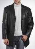 Three-Button New Zealand Lambskin
