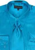 Silky Satin Dress Shirt
