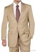 Two Button Gold Suit