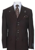 Urban Collection Suit Brown