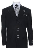 Urban Collection Suit Black