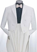 SKU#GS900 Men's White Tuxedo Suits $139