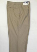 "SKU#WL12 Men's Wide Leg Triple Pleat Pant Toast~Light Mocca Color 22- Inch"" around the bottom $59"