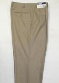 "SKU#WL12 Men's Wide Leg Triple Pleat Pant Toast~Light Mocca Color 22- Inch\"" around the bottom $59"