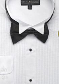 SKU#EF123 Men's Wing Tip Tuxedo Shirt with Bow Tie $39