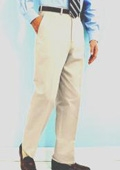 SKU#RT712 PA-100 Snow White Mens Dress Pants Hand Made Relax Fit $69