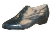 Navy Shoes DOUBLE FOLDED
