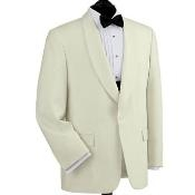 SKU# QAE173 Brand New Mens OFF White Dinner Tuxedo Jacket $189