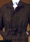 Hidden Button wool blend top coat