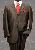 Shark Skin Mens Suit