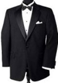 SKU# GPK One Button Notch Tuxedo Super 150's Wool Jacket + Pants $175
