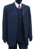Professional Vested Pin Stripe