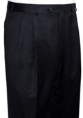 SKU#PS313 RALPH LAUREN Black Pleated Men's Pants $105